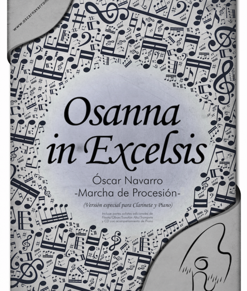 OSANNA IN EXCELSIS (SOLISTA Y PIANO) CP